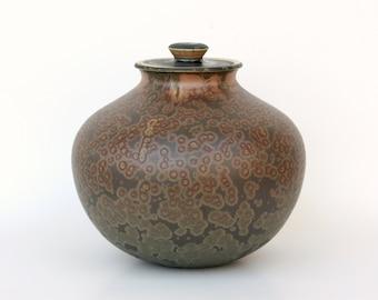 Matte Crystalline Cremation Urn