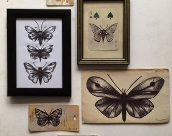 Butterfly Collection on Vintage Finds