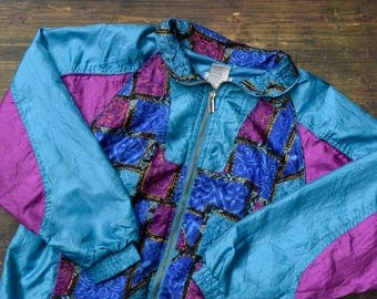90's Patterned Vintage Jacket