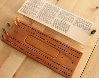 Cribbage Board Etsy