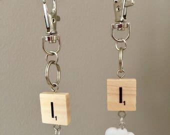 I (Eye)Cloud Nerd Geek Bag/ Key Charm