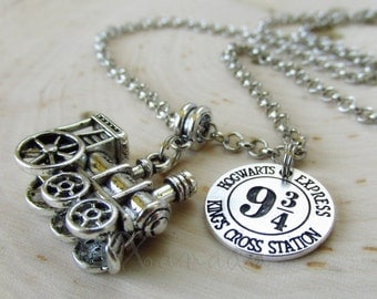 Harry Potter Hogwarts Express Necklace