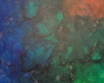 "Original acrylic painting print - ""Lost Soul"""