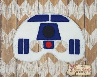 Robot Inspired /Felt Mask/Party Favor Felt Mask/Star Wars inspired