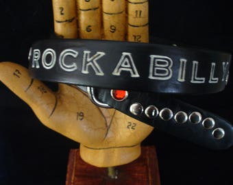 "1"" Rockabilly Belt"