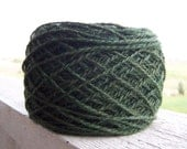 """Hand-Dyed Alpaca Yarn in """"Tipperary Green"""" Colorway"""