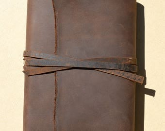 Leather Covered Bible, NLT Compact Version, Pocket Sleeve, Confirmation Gift, Fathers Day, Ordination Gift, Cowboy Preacher Bible  (617B)