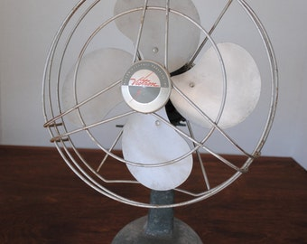 Vintage Victron Electrical Fan Decor