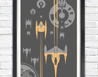 Star Wars - TRADE FEDERATION - 19x13 Poster