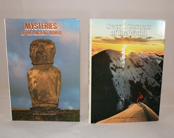 National Geographic Books, Secret Corners of the World and Mysteries of Ancient World