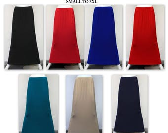 Dare2bstylish Must have Slenderizing Long Pencil Skirt. Small to 3XL