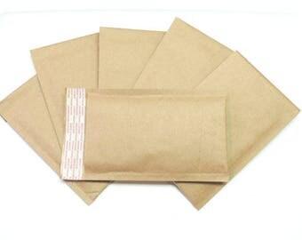 "500 Size 000 (4""x7.5"") Kraft Bubble Mailers (Padded)"