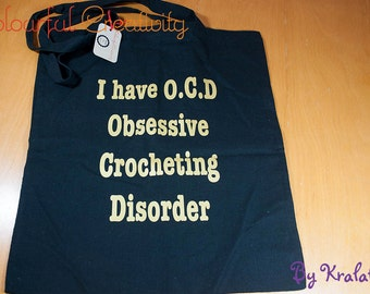 Tote bag - I have OCD