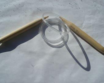 80cm Bamboo Circular Knitting Needles, Natural Wood Knitting Needles T11