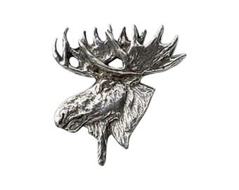Moose Head ~ Refrigerator Magnet ~ M016M,MC016M,MP016M