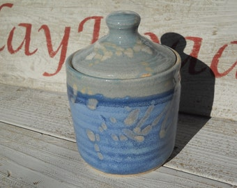 Honey Pot, Jam Jar, lidded jar