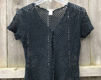 Adorable Vintage Lace // Netting Top