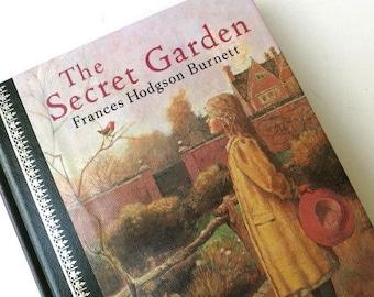 The Secret Garden/Frances Hodgson Burnett/Young Readers/ Children's Book/ Book Decor/ Library Decor/ Home Decor/Child's Room Decor