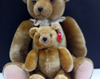 Rare Pair of Schuco Teddy bears from Germany vintage