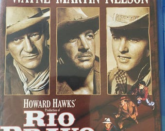 Rio Bravo - John Wayne Dean Martin Ricky Nelson Blu-Ray
