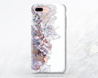 iPhone 7 Plus Case iPhone 6S Plus Case Crystal Print iPhone 5s Case Quartz iPhone 6 Case iPhone Case Tough iPhone 7 Clear TPU Case C39