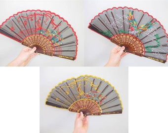 Chinese Folding Fans 1980s – Choice Out