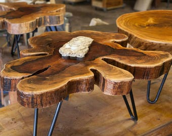 African Wafer Coffee Table