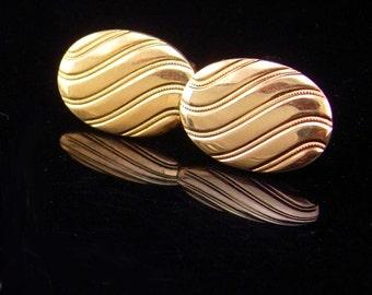 Tuxedo Cufflinks wedding jewelry Groom gift gold cufflinks mens accessory cuff links anniversary gift