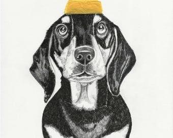 Personalised Custom Pet/Animal Illustration