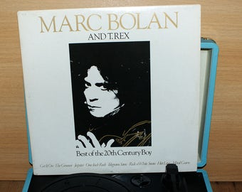 Marc Bolan and T.Rex Best Of The 20th Century Boy Gatefold Vinyl Album LP