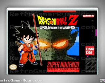 Dragon Ball Z: Super Gokuden (Super NES Reproduction)
