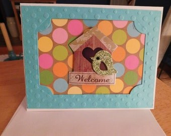 Welcome Card - For your new home