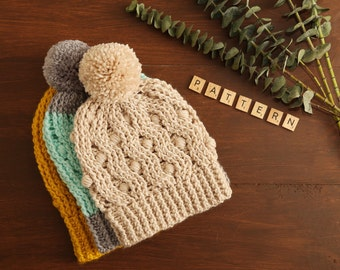 Madison Honeycomb hat  PDF Pattern