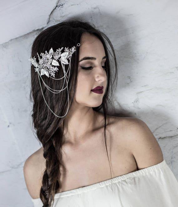 Bridal hair comb, Crystal bridal hair comb, Wedding hair comb, Bridal hair accessories, decorative combs, bridal hair piece