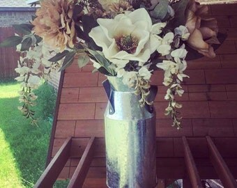 Farmhouse flower arrangements