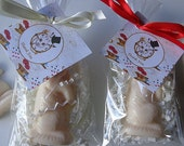 10 Alice in Wonderland Party Favors, Birthday Soap Favors, Children Parties, Mad Hatter