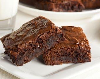 Dozen Fudge Brownies