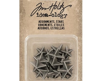 Tim Holtz Idea-ology Adornments - Stars