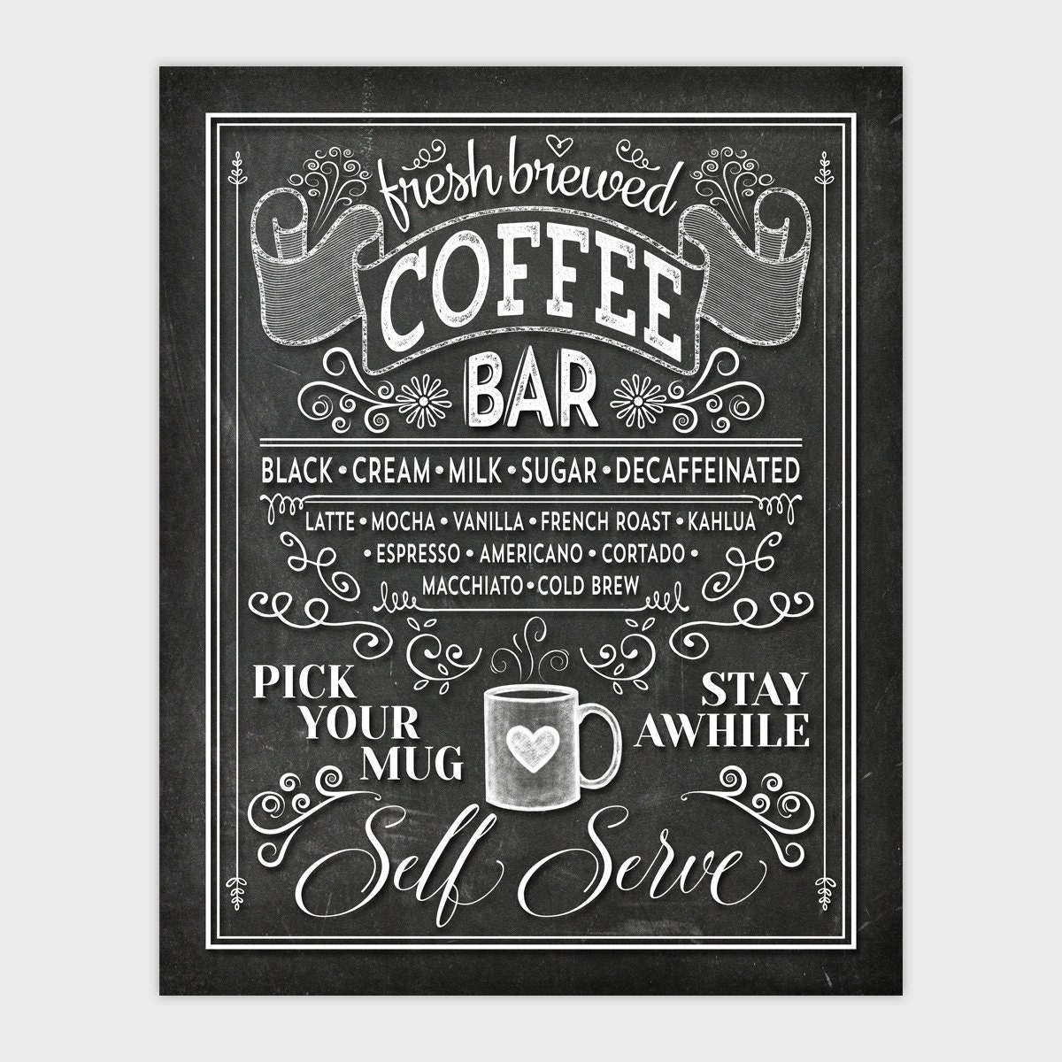 BEST Chalkboard Lettering Tips + Tricks (With images ...  |Coffee Chalk Art