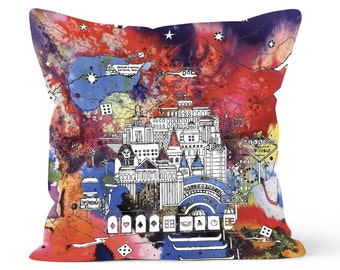 Vegas & The Grand Canyon - Soft and snuggly Pillow Cover