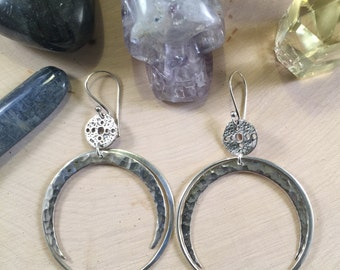 Mystical Moon Earrings