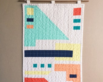 River Quilt Wallhanging #1