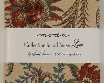 Collection for a Cause, Love Charm Pack by Howard Marcus for Moda
