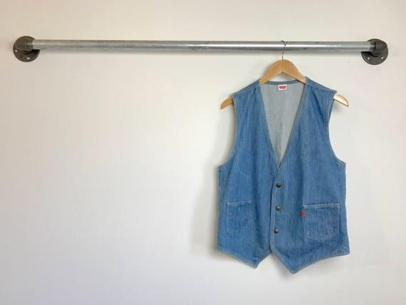 Vintage Men's Levi's Orange Tab Vest