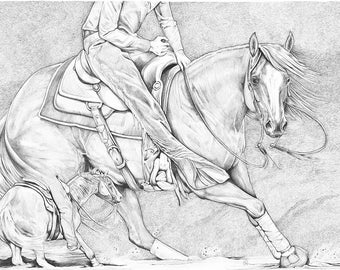 The Cutter ~ Artist Proof 1/1 ~ Horse Print