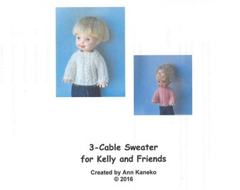 Kelly Cable Sweater Knitting Pattern