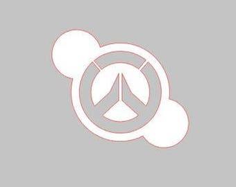 Cookie Stencil - 3 Inch Design - OVERWATCH