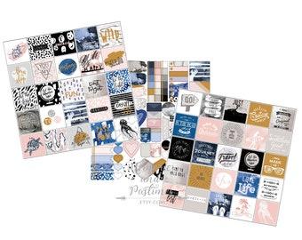 Travel Planner Sticker Kit - Travel Stickers - Vacation Stickers - Vaction Planner Stickers - My Prima - 485925