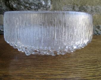 Vintage iittala Ultima Thule Large Bowl  by Tapio Wirkkala