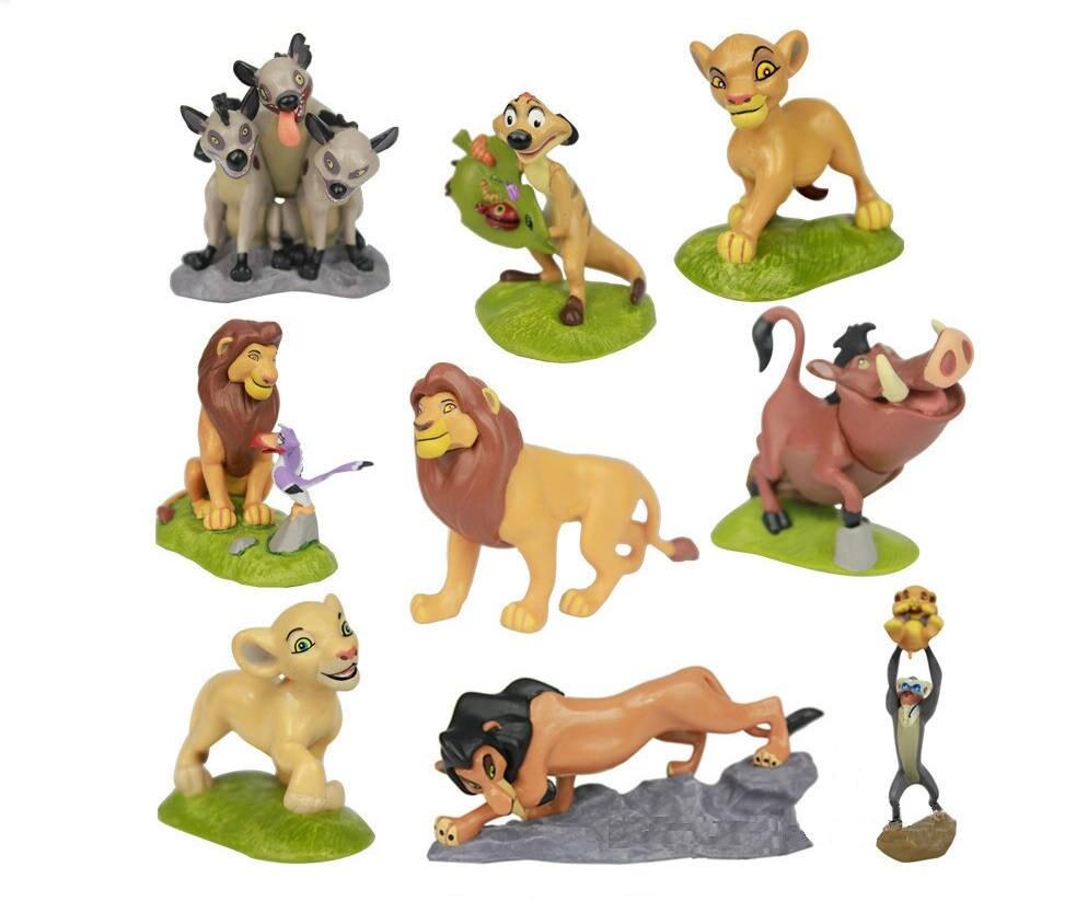 Lion king taart topper simba nala mufasa litteken timon pumba for Timon de groot
